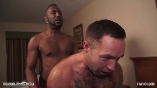 Tatted Daddy Gets Rimmed and Railed