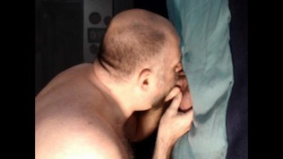 "GH#14 19 year old pizza delivery boy sees glory hole and asks, ""What's that?"""
